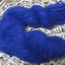 njy hand dyed yarn baby alpaca cria brushed worsted weight 110 yds deep blue