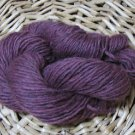 hand dyed yarn 100% icelandic wool spun lopi purple urples