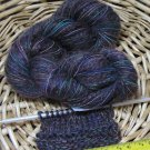 njy combo yarn blend mix alpaca mohair silk wool grape icee fun