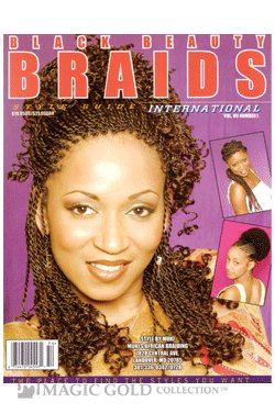 black beauty braids vol 12 with styles magazine book