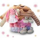 Organic! - Bunny Dreams Baby Gift Basket