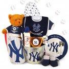 Yankees Spring Training Starter Kit Baby Boy Gift Basket