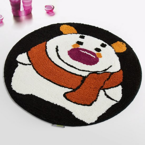 Winter Bear Kids Room Rug