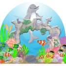 Happy Dolphin Mural