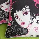 Oriental Love Cotton Decorative Pillow Cushion / Floor Cushion