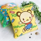 Rilakkuma Yellow Decorative Pillow Cushion / Floor Cushion
