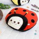 Sirotan - Ladybug Red Blanket Pillow Cushion / Travel Pillow Blanket