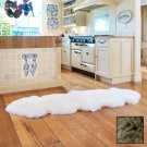 Premium Double Longwool Sheepskin Rug - Taupe