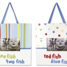 Dr. Seuss 1 Fish 2 Fish 2pc Frame Set