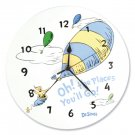 Dr. Seuss Oh! The Places You'll Go Blue Wall Clock