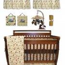 Jungle Jam 10 Pc Crib Bedding Set