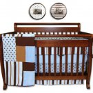 Max 4 Pc Crib Bedding Set w/ Free Frames!
