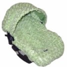 Custom Fuzzy Infant car seat cover