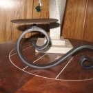 Candle holder,scroll candle holder