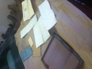 WW1 collection, WW1 journal, World War One papers