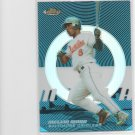 05 Topps Finest Melvin Mora Blue Refractor Parallel Card # 102/299