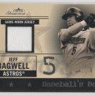 Jeff Bagwell 04 Fleer Showcase Game Worn Jersey Baseball's Best 047/150