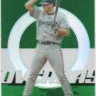 05 Topps Finest Lyle Overbay Green Refractor Parallel Card # 172/199