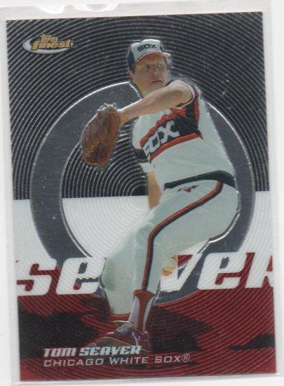 05 Topps Finest Tom Seaver Base Card #166