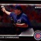 Carlos Zambrano 2010 Bowman Chrome Cubs