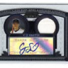 C.J. Smith 05 Bowman Sterling RC First Year Card Auto Autograph Jersey