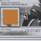 Dave Parker GU Jersey Heroes and Prospects 2011 Silver/160