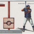 Ronnie Belliard 05 Topps Pristine Common Bat Indians