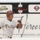 Lenny Dykstra 05 Absolute Memorabilia Heroes Phillies 180/250