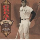 Willie Mays 05 Leather & Lumber Great Gloves Giants 783/2000