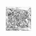 0.30 Carat Princess Cut Diamond SI2/I1 Clarity