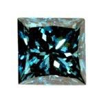 Blue Diamond 0.33 Carat (4.2 mm) I4 Clarity