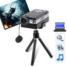 Portable Mini Projector w/ VGA, SD, A/V Input, 800x600 Pixels
