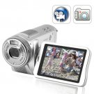 "5.0M Pixels Digital Camcorder - CMOS Digital DVR w/ 3.0"" Flip Screen"