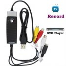 Video Capture Device w/ Easy Capture Button - Record Video / VHS / TV/ DVD