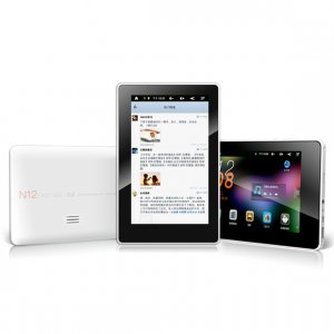 Window N12 Fast Tab - Capacitive 7 inch Pad - 8GB Android 2.3 Tablet PC