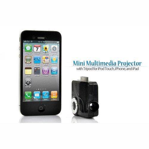 ipad iphone mini projector portable multimedia micro led