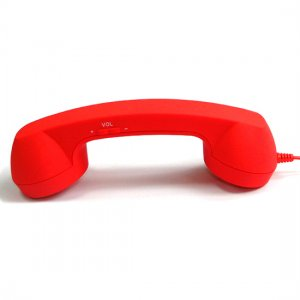 iPhone 4s iPad Retro Handset - Android Smart Phone Retro Handsets - Red