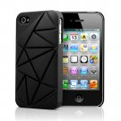 Urban Prefer Coin4 - iPhone 4 4S Silicone Back Case - Black