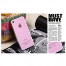 iPhone 4 / 4S Screen Protective Skin - Double Guard Film - Pink