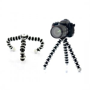 Flexible Spider Camera / Camcorder Tripod - Adjustable Solid Design Tripod