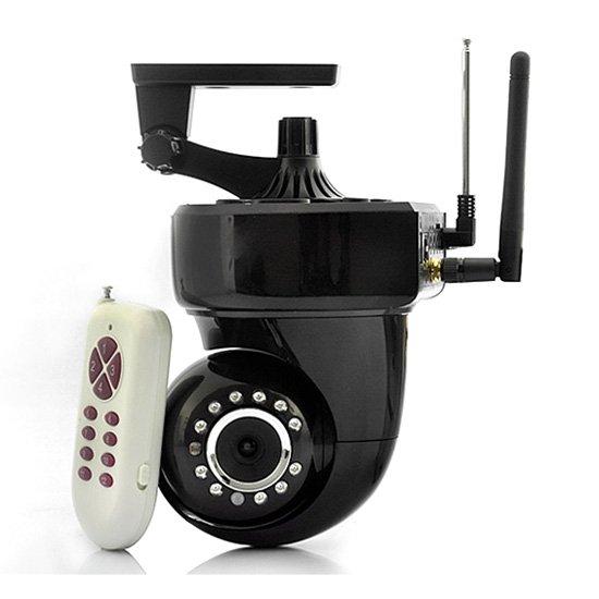 wireless ip security camera smartphone ptz control. Black Bedroom Furniture Sets. Home Design Ideas