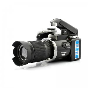 5MP 720P Digital Video Camera Camcorder w/ Optical Telescope Zoom, Wide-angle Lens