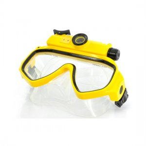 Underwater Scuba Mask DVR - 720P Wide Angle Lens Video Recorder
