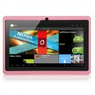 """Q88 Capacitive 7"""" Android 4.0 Tablet PC - 512MB RAM 4GB ROM Cortex-A8 - Pink"""