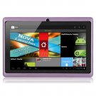 """Q88 Capacitive 7"""" Android 4.0 Tablet PC - 512MB RAM 4GB ROM Cortex-A8 - Purple"""