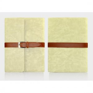 Flip Stand Leather Case For iPad Mini - White