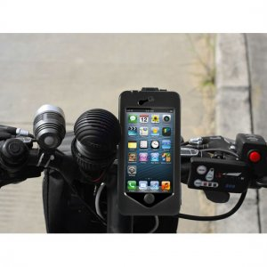 Bicycle Mount Case For iPhone 5 - 360 Degree Rotation Shockproof Shell