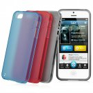 Cap-dase  Jacket  Xpose - Soft Silicone Case Cover  For iPhone 5 with Free Shipping