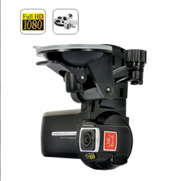 2.5 Inch Detachable 1080P HD  Car DVR - 15 FPS  5MP CMOS  4X Digital Zoom Car Driving Recorder