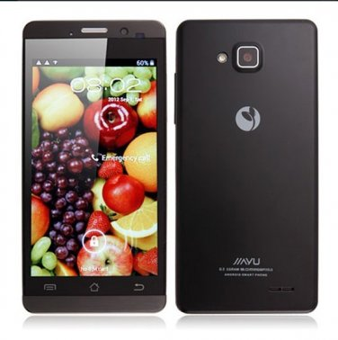 JIAYU G3T Dual SIM Card Android 4.2 Cell Phone - 4.5 Inch MTK6589T Quad Core Phone WiFi Bluetooth